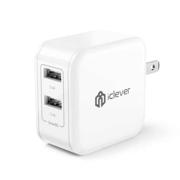iClever BoostCube 4.8A 24W Dual Charger