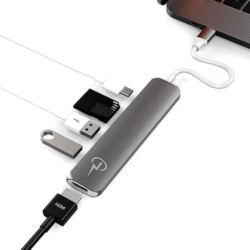 Chargen Skinny USB C multi-port HUB
