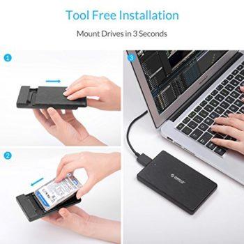 "ORICO USB 3.0 to SATA III 2.5"" External HDD Enclosure"